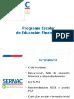 Programa Escolar de Educación Financiera de SERNAC