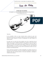 O Medo Não Vos Domina - Arcanjo Sandalfon - Bruno Miguel Barros 25.09.18