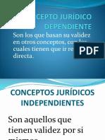 Concepto Jurídico Dependiente-1