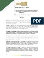 PL 071-18 Prohibicion Fracking