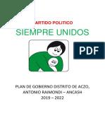 El Gobierno Político en Ancash 29