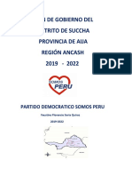 El Gobierno Político en Ancash 23