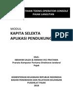 Kapita Selekta Aplikasi Pendukung Administrasi Perpajakan
