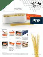 Manual Pasta Cooker Lekue