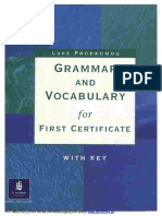 Grammar and Vocabulary for First Certificate; L. Prodromou.pdf