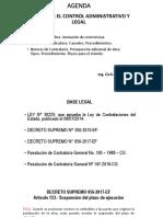 Control Administrativo y Legal en una Obra