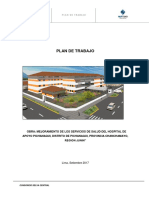 Plan de Trabajo-hospital de Pichanaqui
