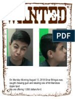 omar bringas-quintero - wanted poster period 4