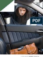 informe Robos de vehiculos