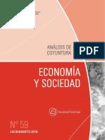 Economia y Sociedad - n 59 - Julio Agosto 2018 - Paraguay - Portalguarani