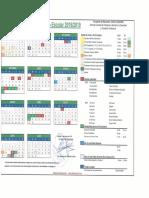 Calendario Toledo