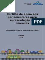 Cartilha Emendas Online