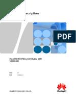 HUAWEI E5573Cs-322 Mobile WiFi Product Description-%28V200R001_01%2CEN%29