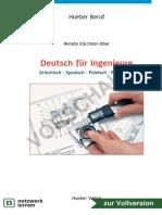 Deutsch für Ingeniure