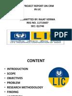 Presentation LIC New