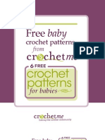 Crochet Me Free Baby Patterns