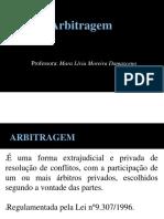 Slide 7 - Arbitragem