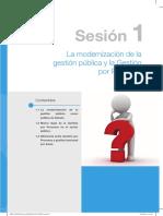 La modernización de la gestión pública y la Gestión por Procesos