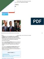 284208019 Linea de Tiempo Presidentes de Mexico PDF