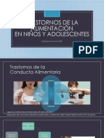 Trastornos de la  Alimentacion en Pediatría