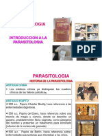 INTRODUCCION parasitologia