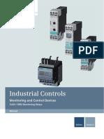 54397927 Manual Monitoring Relay SIRIUS Monitoring Devices