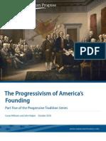 The Progressivism of America's Founding