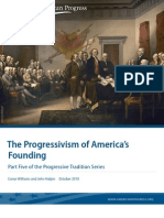 The Progressivism of America's Founding
