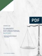 Elsner Summary Informational Report