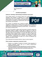 Evidencia 2 Workshop Understanding the Distribution Center Layout