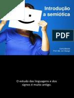 Introdução a semiótica aplicada