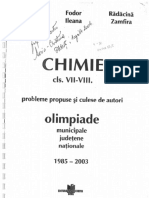 Olimpiade Chimie 1985-2003
