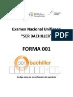 Examen Nacional Unificado 001