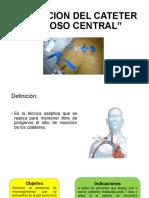 Curacion Del Cateter Venoso Central