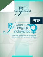 Manual de Lenguaje Incluyente