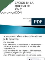 La Organización en La Empresa
