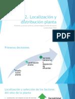 Semana 2. Localización y Distribución Planta
