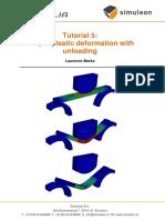 Tutorial 5 - Plastic Deformation