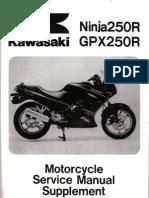 GPX250 88-05 Supplement