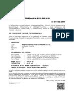 Constancia Posesion 00096 2017