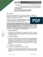 Dictamen Comisión de Constitución del Congreso, sobre inclusión de mención expresa en la Constitución sobre criminalización del financiamiento ilegal de partidos