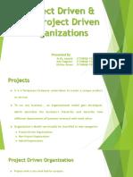 Project Driven & Non Project Driven Organizations