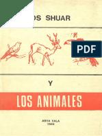 Los Shuar y Los Animales