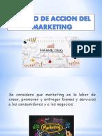 Campos de Acción Del Marketing