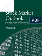 Stock Market outlook 2016