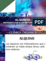 ALQUINOS quimica organica