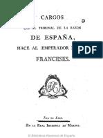 Cargos al Emperador de los Franceses