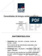 Anatomofisiología Celular
