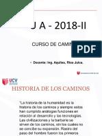 Historia de Los Caminos Sesion 01 Ucv