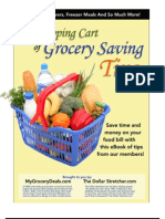 Grocery Money Saving Tips